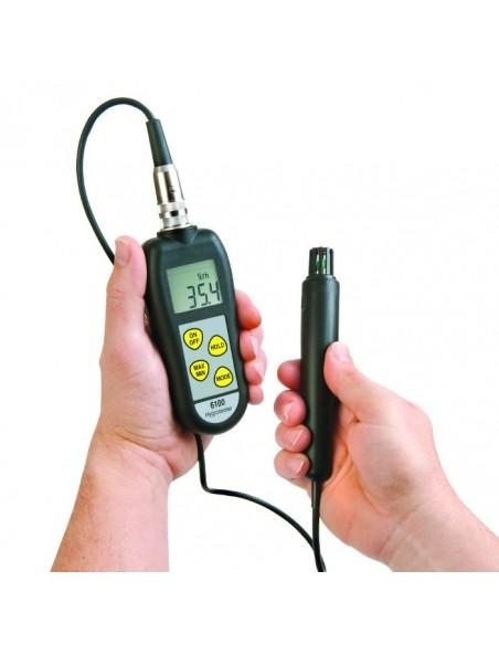 Miernik wilgotności powietrza z sondą ETI 6100