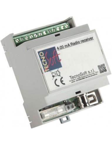 Radiowy odbiornik PLC 4-20 mA do serii rejestratorów P-Radio i S-Radio
