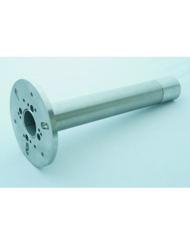 Uchwyt do montażu Cslaset / CTlaser na ścianie pieca, w zestawie z rurką dystansową 300 mm oraz adapterem rurki M48x1,5