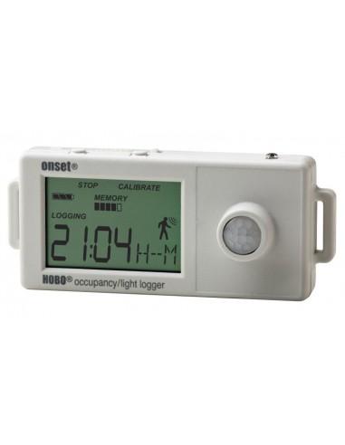 Rejestrator załączenia oświetlenia oraz obecności osób w pomieszczeniu Onset HOBO UX90-005
