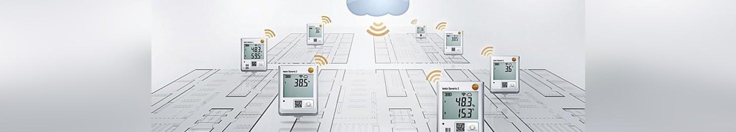 Bezprzewodowy system rejestratorów danych WiFi Saveris 2