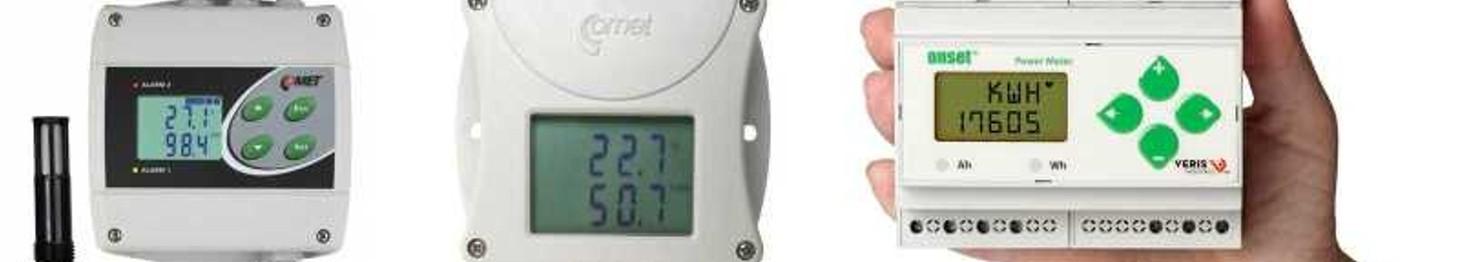 Przetworniki i regulatory temperatury, wilgotności i inne