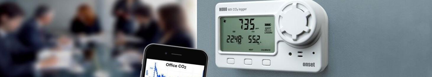 Rejestratory stężenia CO i CO2 • MERA Sp. z o.o.