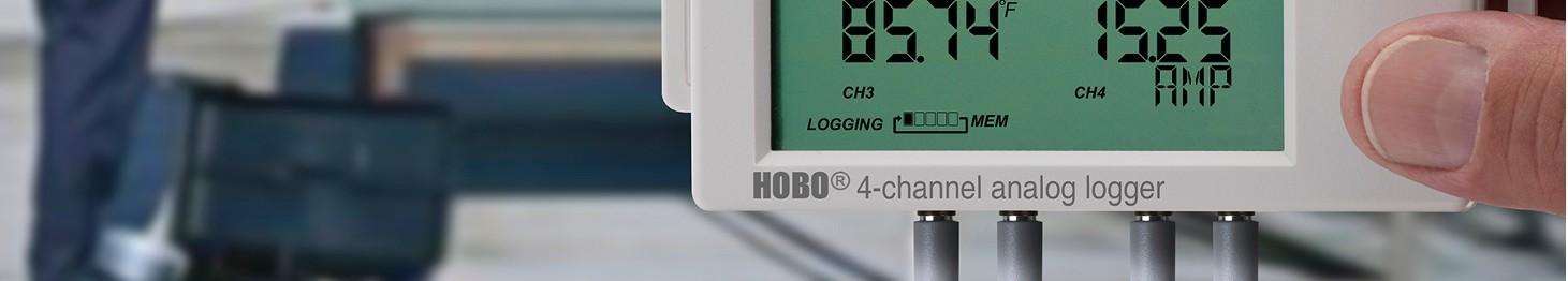 Rejestratory sygnałów 4-20 mA i 0-10 V (prądowych i napięciowych)