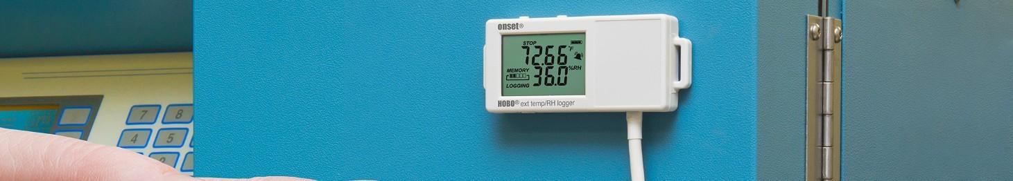 Rejestratory wilgotności i temperatury powietrza
