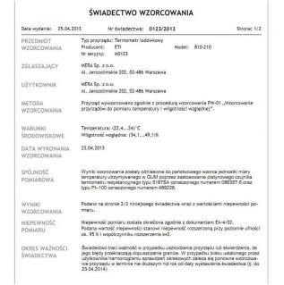 Z akredytacją PCA